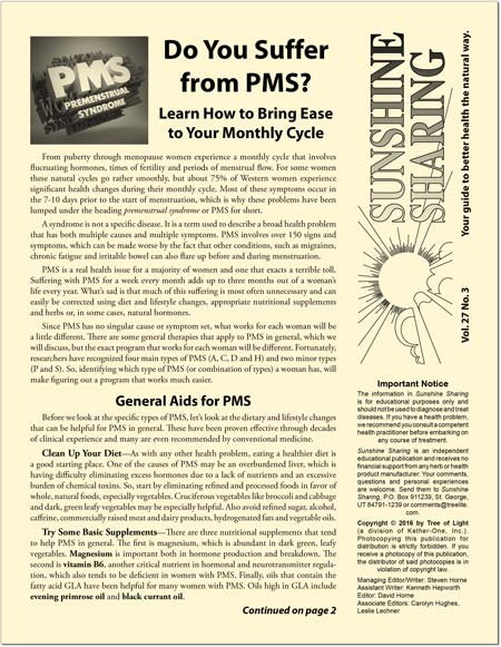 Do You Suffer from PMS?