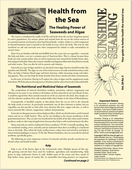 Health from the Sea